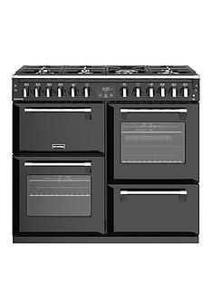 stoves-richmond-s1000df-100cm-wide-dual-fuel-range-cooker-with-optional-connection-black