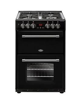 belling-60df-farmhouse-60cmnbspwide-dual-fuel-cookernbspwith-optional-connection-black