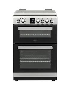 belling-fsdf608dc-60cm-dual-fuel-cooker-with-optional-connection-stainless-steel