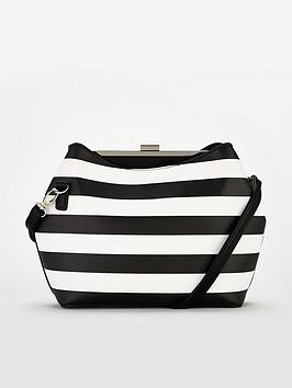 v-by-very-patti-stripe-frame-bag