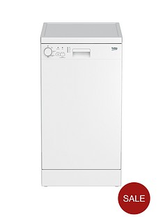 beko-dfs04010w-10-place-freestanding-slimline-dishwasher-white