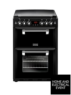stoves-richmond-600g-60cmnbspwide-gas-cooker-with-optional-connection-black