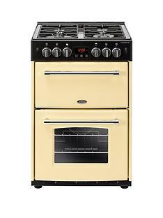 belling-60gnbspfarmhousenbsp60cmnbspwide-gas-cooker-with-optional-connection-cream
