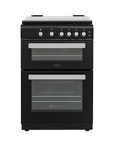 belling-fsg608dc-60cmnbspwide-gas-cooker-with-optional-connection-black
