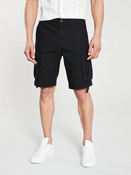jack-jones-anakin-cargo-shorts-black