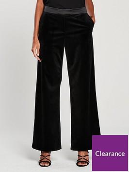 v-by-very-velvet-wide-leg-suit-trouser-black