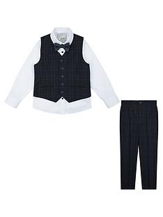 monsoon-ryan-check-complete-waistcoat-set