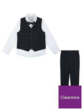monsoon-ryan-check-complete-waistcoat-set