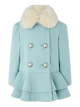 monsoon-baby-blossom-blue-coat