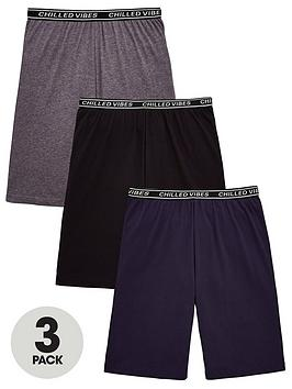 v-by-very-boys-3-pack-chilled-vibes-lounge-shorts-multi