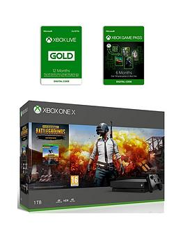 xbox-one-x-xbox-one-x-playerunknowns-battlegrounds-bundle-6-months-games-pass-and-xbox-live-gold-membership-12-months