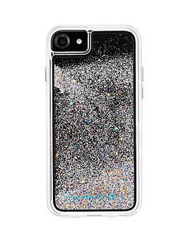case-mate-glitter-waterfall-iridescentnbsptwo-piece-protective-case-for-iphone-8nbsp-also-fits-iphone-766s