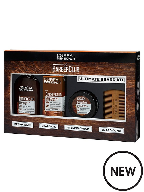 Christmas Gift Sets For Men.L Oreal Men Expert Complete Care Barberclub Collection Christmas Gift Set For Him