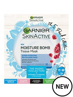 garnier-garnier-skinactive-tissue-masks-the-5-pack-collection-christmas-gift-set-for-her