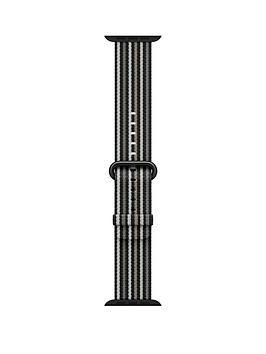 apple-watch-42mm-black-stripe-woven-nylon-band-strap