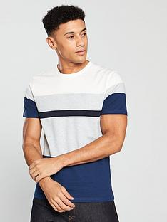 selected-homme-selected-homme-ss-colour-block-jack-t-shirt