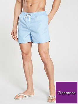 selected-homme-classic-swim-shorts-blue