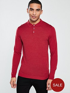 selected-homme-selected-homme-mountain-merino-knitted-polo