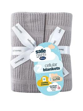 Silentnight Silentnight Pk 2 Cellular Blanket Picture