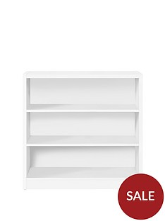 home-essentials--nbspmetro-small-wide-bookcase-white