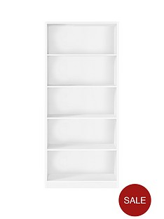 metro-tall-wide-extra-deep-bookcase-white