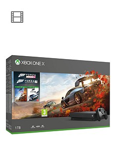 xbox-one-x-1tb-console-forza-horizon-4-and-forza-7-with-optional-extra-wireless-controller-andor-12-months-live-gold