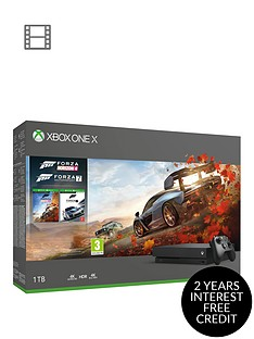 xbox-one-x-forza-horizon-4-and-forza-7-1tb-console-bundle-and-optional-extras