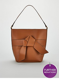 v-by-very-jude-knot-front-bucket-bag-tannbsp