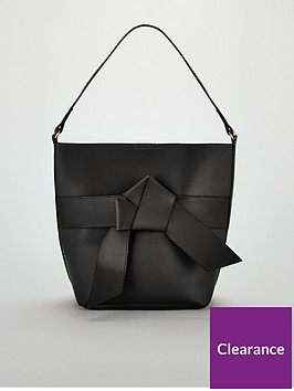 v-by-very-jude-knot-front-bucket-bag-blacknbsp