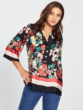 v-by-very-border-print-tunic
