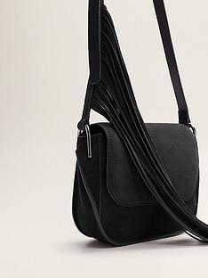 mango-fringe-leather-bag
