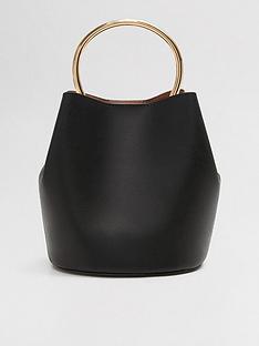 mango-hoop-bucket-bag