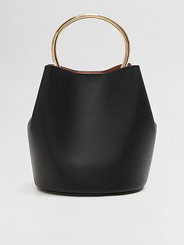 mango-hoop-bucket-bag