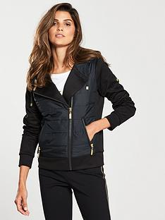 barbour-international-trail-padded-hooded-zipper-sweatshirt-black