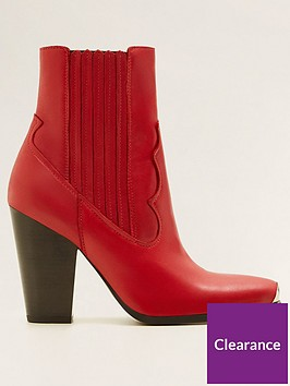 mango-leather-cowboy-ankle-boot