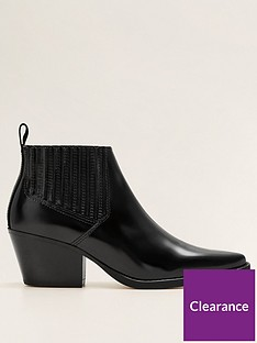 mango-leather-western-pointed-ankle-boot