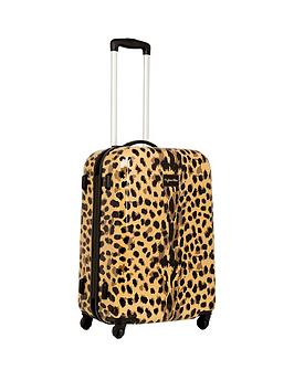 myleene-klass-myleene-klass-4-wheel-medium-case-leopard