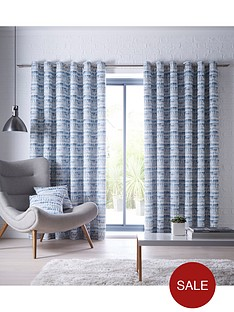studio-g-tenby-eyelet-curtains-indigo