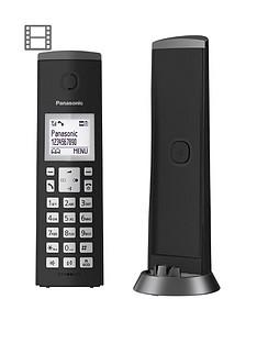 panasonic-kx-tgk220eb-digital-cordless-telephone-with-15-inch-lcd-screen-nuisance-call-blocker-and-answering-machine-single-dect-black