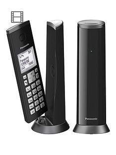 panasonic-kx-tgk222ebnbspdigital-cordless-telephone-with-15-inch-lcd-screen-nuisance-call-blocker-and-answering-machine-twin-dect-black