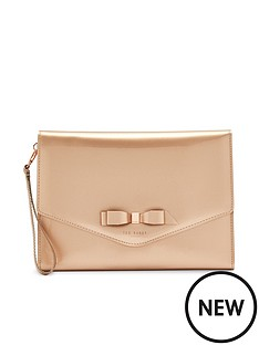 ted-baker-cersei-bow-envelope-pouch-bag-rose-gold
