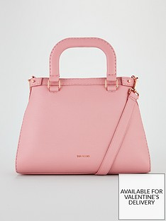 Ted Baker Daiisyy Padded Handle Large Tote Bag - Pink 6077c22fbf