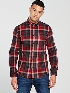 selected-homme-long-sleeve-carter-check-shirt-burgundy