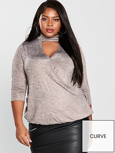 v-by-very-curve-metallic-choker-neck-wrap-front-top