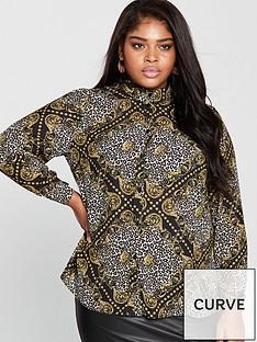 v-by-very-curve-longline-shirt-chainleopard-print