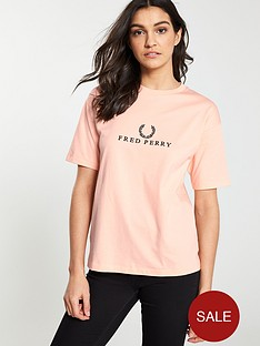 42812c216 Fred Perry Embroidered T-shirt