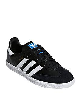 adidas Originals Adidas Originals Samba Junior - Black/White Picture