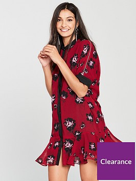 religion-ashley-floral-print-tunic-dress