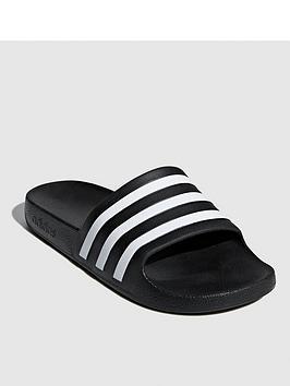 Adidas   Adilette Aqua - Black
