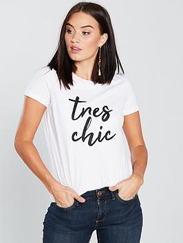 v-by-very-tres-chic-tee-white